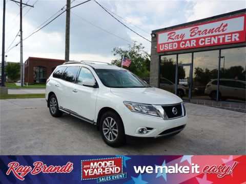 Pre-Owned 2015 Nissan Pathfinder SL FWD 4D Sport Utility