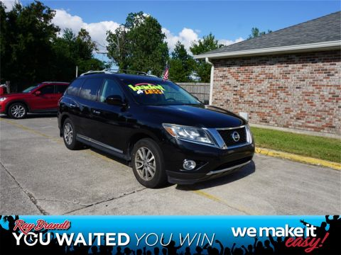 Pre-Owned 2014 Nissan Pathfinder SL FWD 4D Sport Utility