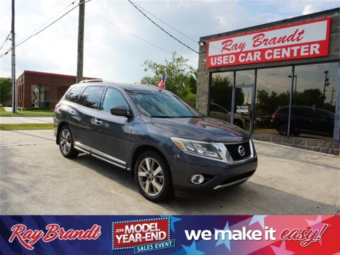 Pre-Owned 2014 Nissan Pathfinder Platinum FWD 4D Sport Utility