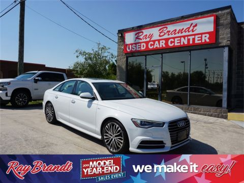 Pre-Owned 2016 Audi A6 2.0T Premium Plus FrontTrak 4D Sedan